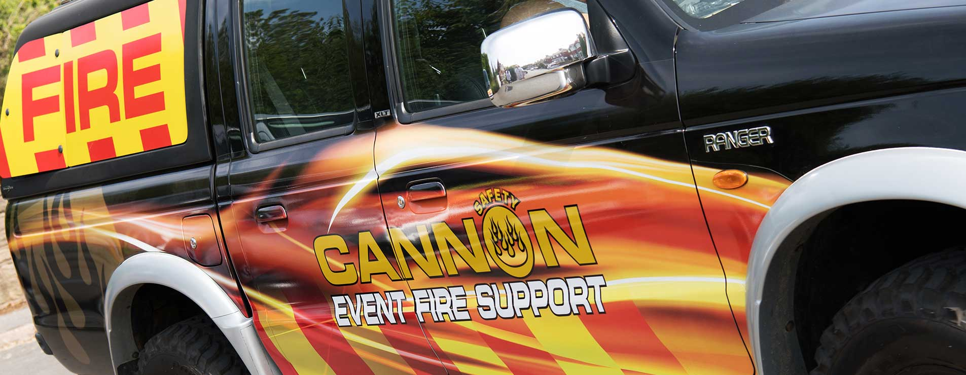 Cannon Safety truck